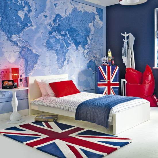 London themed bedroom home decor report for Home decorations london