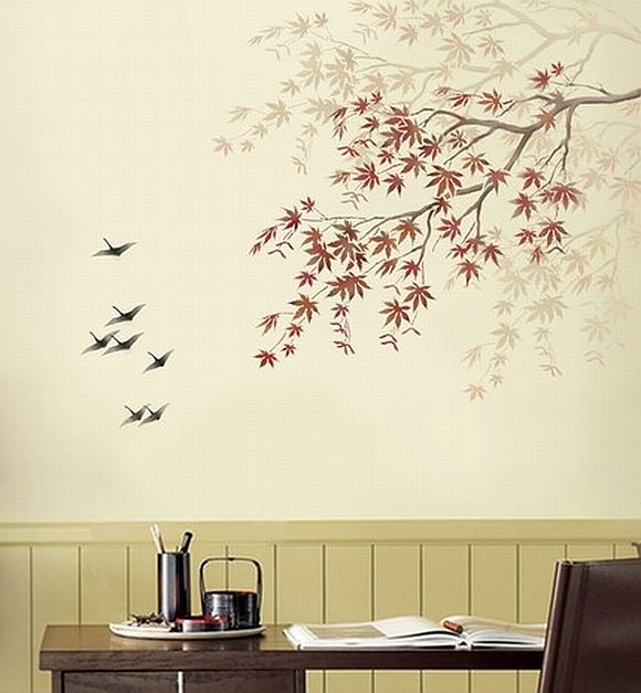 3 way ideas to create nature wall painting home decor report