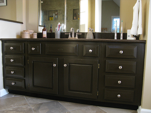 Refinish Bathroom Cabinet Doors