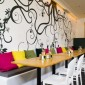Restaurant Wall Design