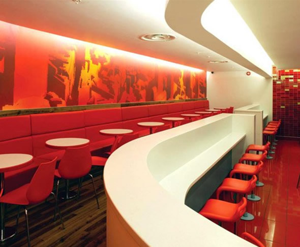 Restaurant Wall Design Ideas