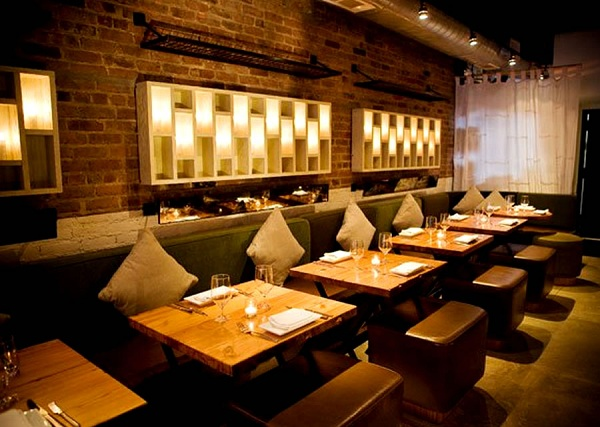 4 ideas to create amazing restaurant wall design home for Interior decoration pictures of restaurant