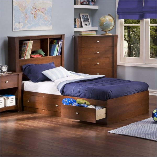 Single Box Bed Design Pictures