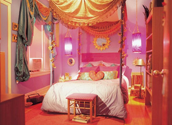 4 exotic theme ideas for teen girls bedroom home decor for Exotic bedroom decor