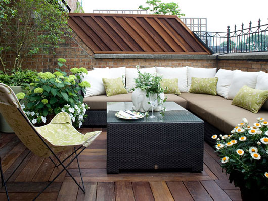 Terrace Backyard Ideas