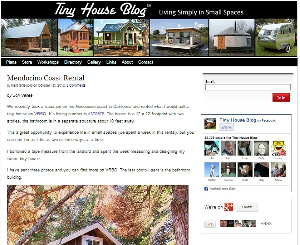 Tiny Homes Blog