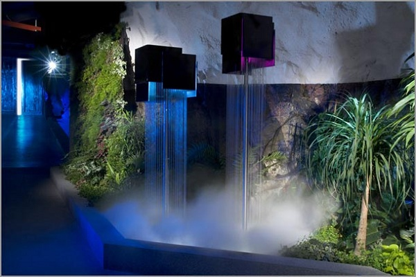 Tips To Make Wonderful Modern Indoor Waterfall | Home Decor Report