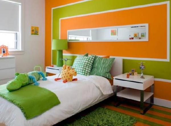 Green Colour Schemes Bedrooms