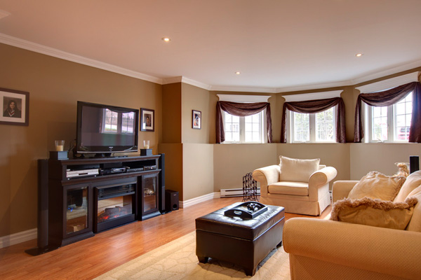 Modern Family Room Decorating Ideas Pictures