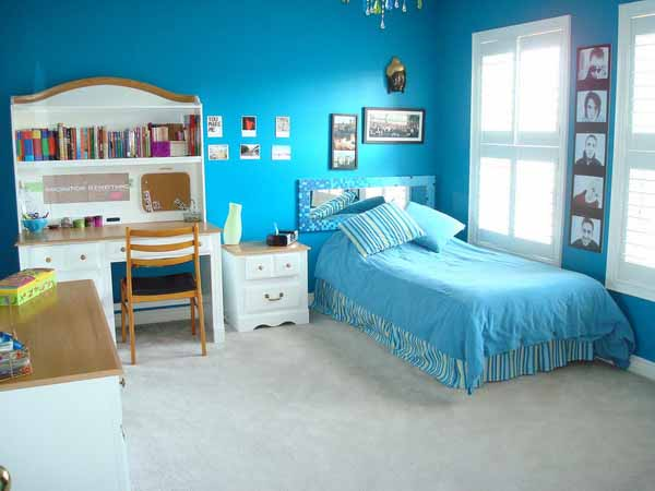 Blue Room Ideas For Girls