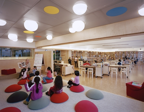 Elementary School Library Design
