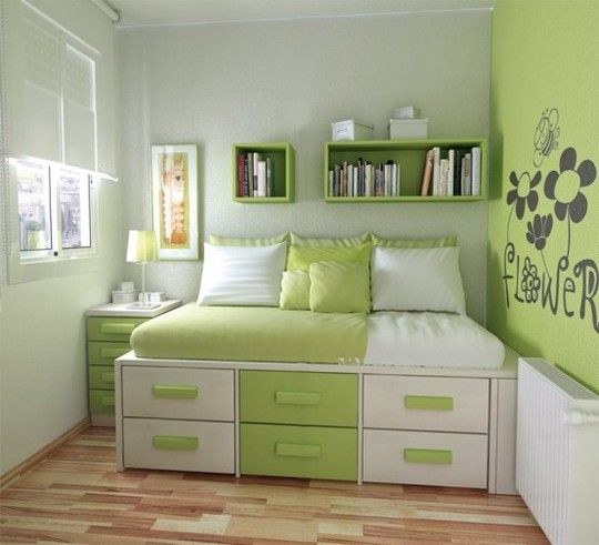 How To Make Small Bedrooms Look Bigger: 4 Secrets To Make A Very Small Bedroom Look Bigger