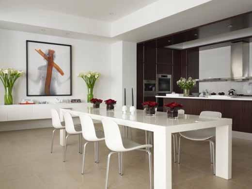 Large White Dining Furniture
