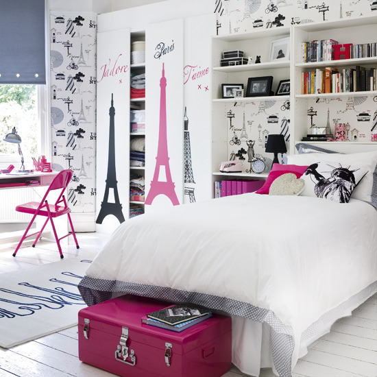 Paris Inspired Decor For Bedrooms