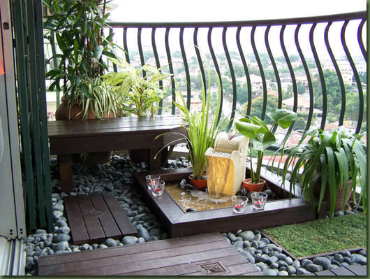 Pics Long Balcony Decor Ideas Picture