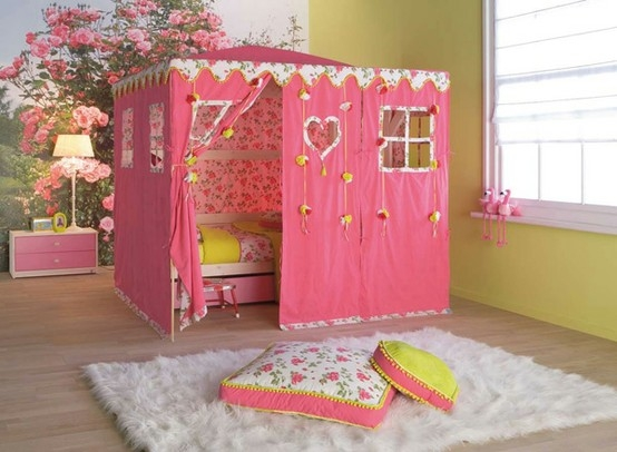 Pink Kids Room Decor