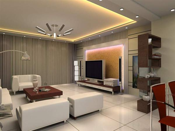 Pop Living Room Ceiling
