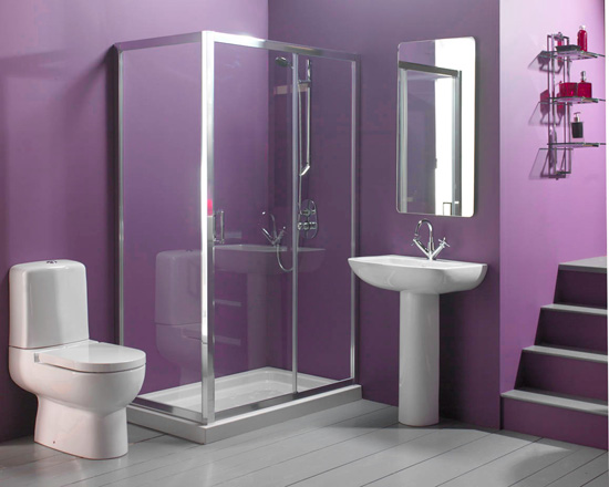 Purple Bathroom Designs