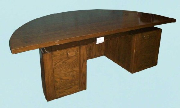 Semi Circle Office Desk