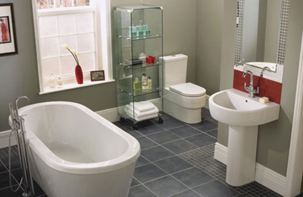 4 simple ways to improve small bathroom in low budget for Simple small bathroom designs