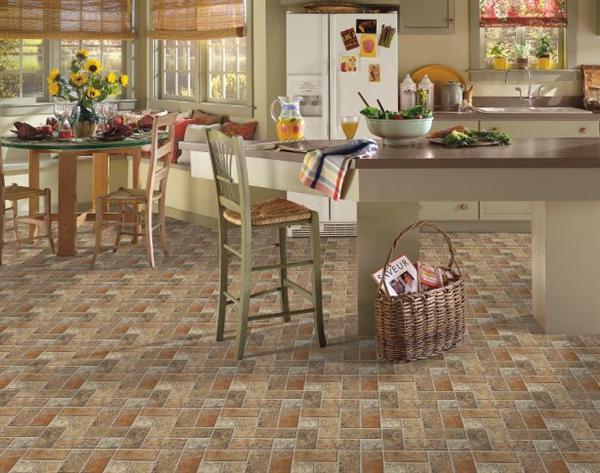 Tile Flooring In Kitchen