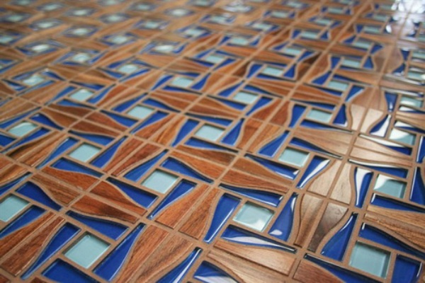 Wood Tiles Design