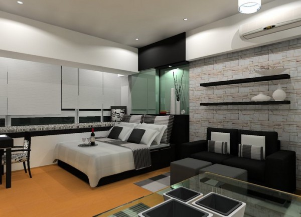 Young Men Bedroom Design