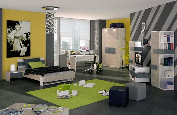 4 interesting ideas to plan young mens bedroom home for Bedroom designs for young men