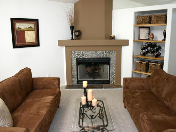Fireplace Mantel Corner