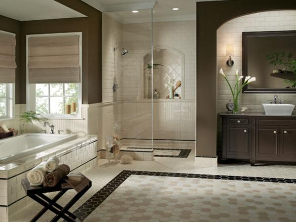Small Modern Bathroom Tiles