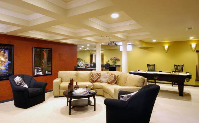 Basement Family Room Design Ideas
