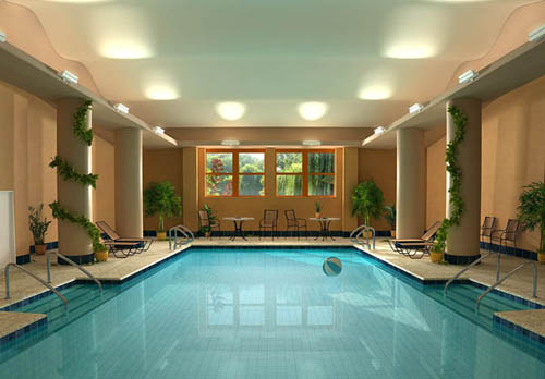 Create the best private swimming pools in house home for Private indoor swimming pools
