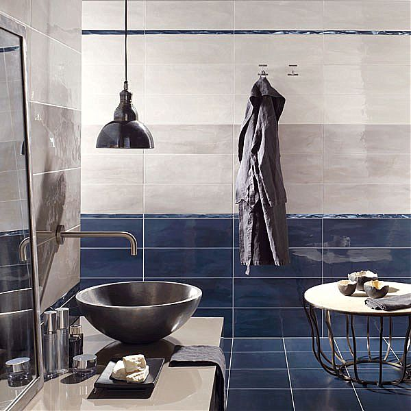 Blue and grey bathroom ideas home decor report for Blue and grey bathroom sets