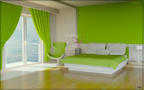 Boys Room With Green Walls