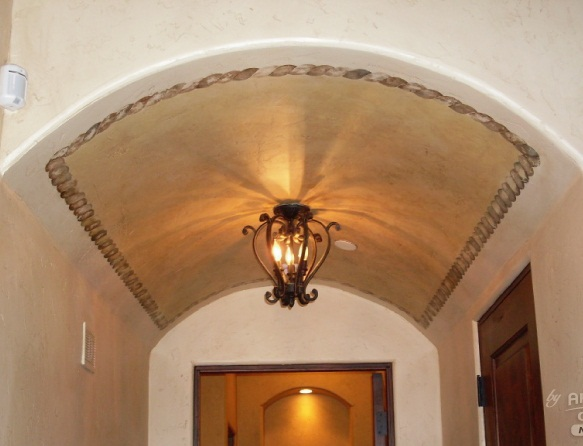 Curve Ceiling Design Photo