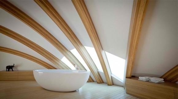 Curve Ceiling Design Pic