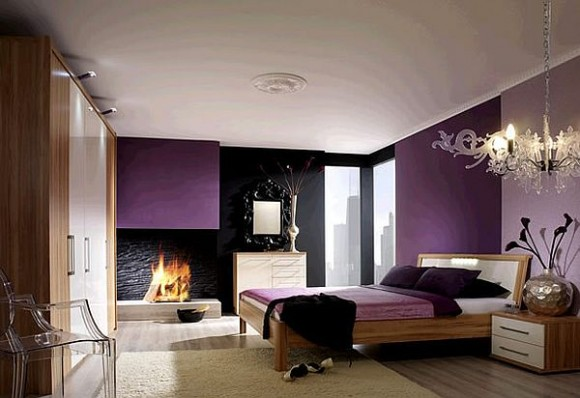 Dark Purple Bedroom Ideas