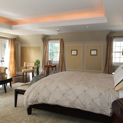 Down Ceiling Bedroom Design