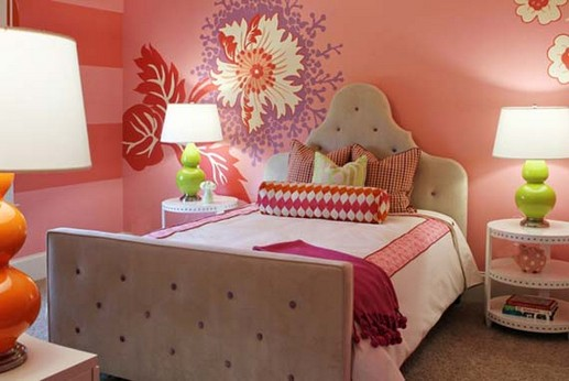 Flower Decorations for Girls Room