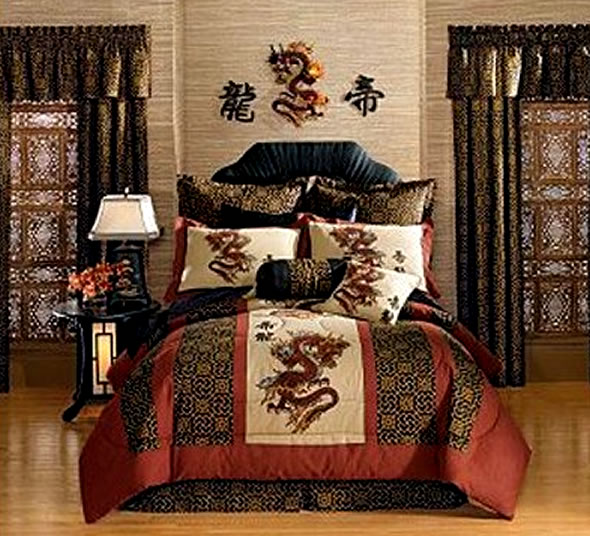 Japanese decorating ideas bedroom home decor report for Asian wedding bedroom decoration