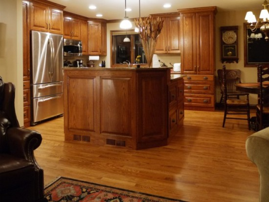 Kitchen Floor Tile Wood
