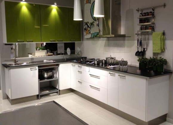 L Shaped Kitchen Cabinet Design