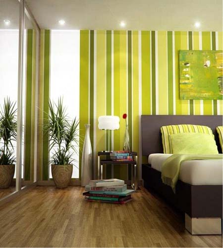 Lime Green Bedroom Walls