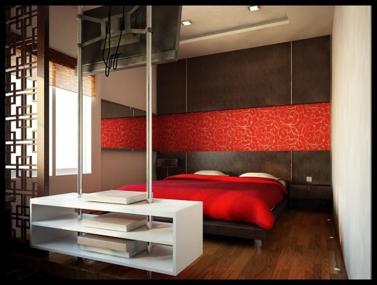 Modern Bedrooms Designs 2012 Picture