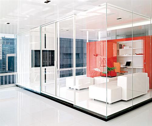 Modern Minimalist Office Design