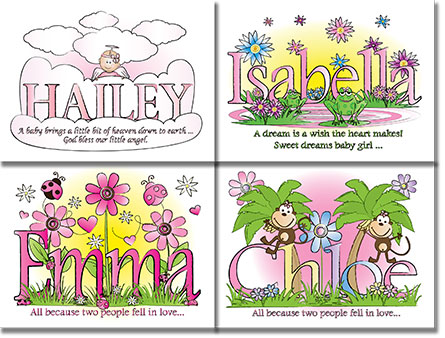 Nursery Wall Decor for Girls