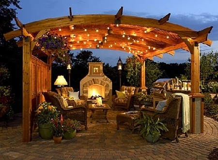 Outdoor Fireplace Designs Pictures