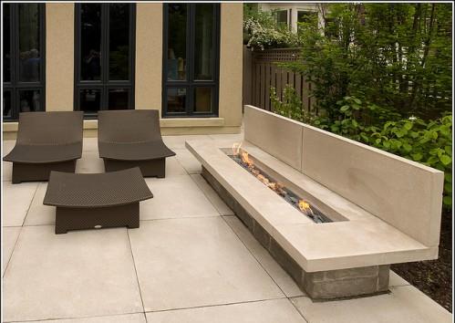 Outside Fireplace Ideas Design