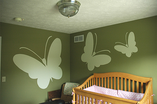 Sage Green Baby Rooms