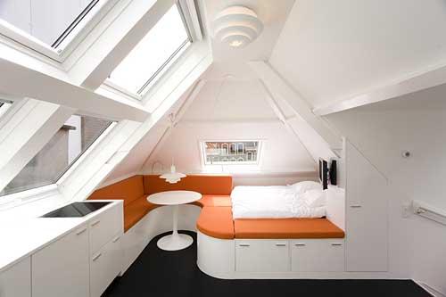 Small Attic Rooms Ideas